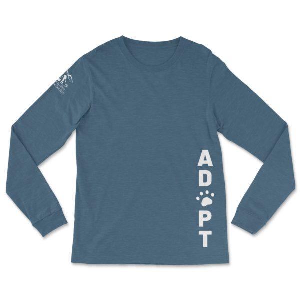 ADOPT Long Sleeve T-Shirt - Conway Area Humane Society