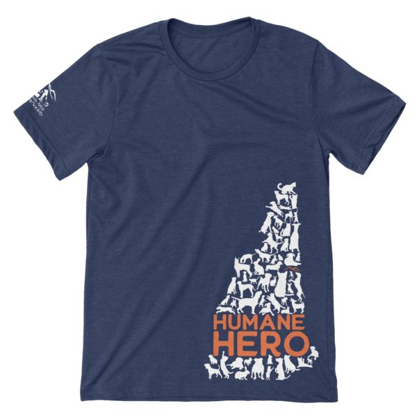 Humane Hero - New Hampshire - T-Shirt - Conway Area Humane Society