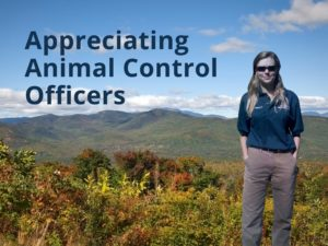 Appreiating Animal Control Officers